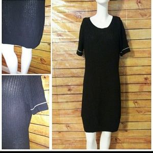 Dresses & Skirts - Short Sleeve Sweater Dress